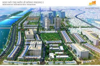 Bán lô 60 80-100m2 đoạn gần các tòa nhà chung cư Hà Quang KĐT Lê Hồng Phong 1 làm việc chính chủ
