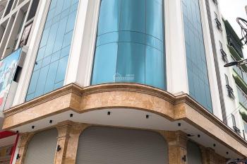 Bán toà nhà văn phòng mặt phố Hoàng Quốc Việt, 300m2, 9 tầng, lô góc 3 mặt thoáng