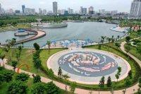 Biệt thự ngoại giao An Khang Villa sát hồ điều hòa - cần bán nhanh