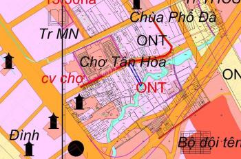 Đất mặt tiền Quốc Lộ 51 tỉnh Bà Rịa Vũng Tàu, ngang 18m dài 100m, ngang 9,4m dài 45m