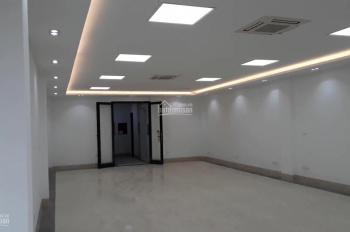 Cho thuê nhà mặt đường Trung Hòa, căn góc, 150m2*7 tầng + 1 hầm, thang máy, sàn thông