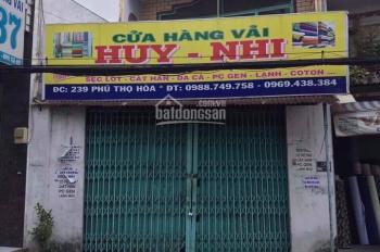 Bán nhà MTKD Phú Thọ Hòa, P. Phú Thọ Hòa, Q. Tân Phú (DT: 5x12.5m, cấp 4, giá 11 tỷ)