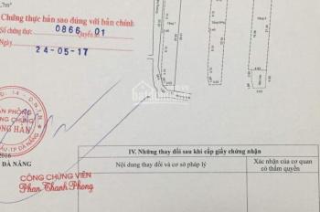 Bán nhà 3 tầng MT Trần Cao Vân - Đà Nẵng - Địa chỉ P. Xuân Hà, Thanh Khê