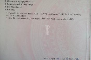 Bán đất khu êm đềm Linh Xuân Thủ Đức đối diện khu chế xuất Linh Trung 1 ngay sát Quốc Lộ