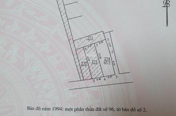 Bán đất thổ cư sổ đỏ chính chủ tại phố Văn Trì - Minh Khai - Bắc Từ Liêm