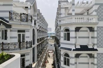 Bán nhà phố, căn góc DT: 6x11m, 4 tầng, 4PN, 5WC, SHR, giá 9,2 tỷ/căn, gần Quốc Lộ 50, Quận 8
