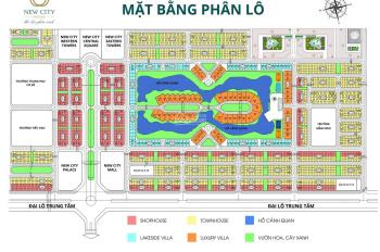 New City Phố Nối: Chính chủ cần bán lô biệt thự song lập mặt hồ