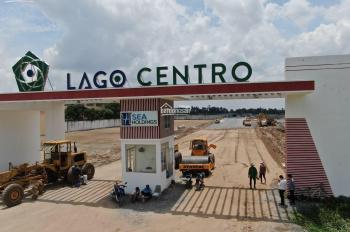 Cần bán lô đất biệt thự dự án Lago Centro Bến Lức Long An; Mặt tiền ĐT830, sổ trao tay, giá rẻ