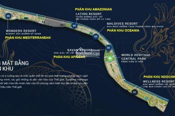 Tôi cần bán đất giai đoạn 1 biệt thự sinh thái Sunshine Heritage Resort Cẩm Đình, Phúc Thọ, Hà Nội