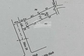 Bán nhà MT trục chính hẻm 38 Trương Định, cách đầu hẻm 80m