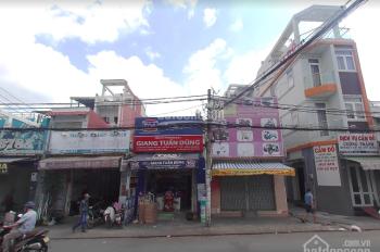 Cho thuê nhà MT KD đường Hậu Giang, 4x11, gần vòng xoay Phú Lâm