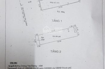 Bán nhà 137A Dương Văn Dương, mặt tiền KD 16m có lề, DT: 4 x 16m, trệt, lầu giá: 7,79 tỷ TL