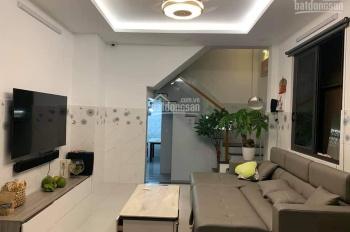Bán nhà đẹp 4 tầng, HXH đường Chu Văn An, Quận Bình Thạnh, DT 5x15m giá 8.5 tỷ TL