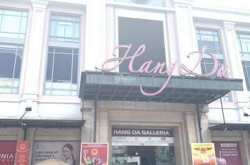 Cho thuê mặt bằng kinh doanh đẹp 500m2 tại tầng 2 TTTM Hàng Da, Hoàn Kiếm, Hà Nội. LH. 0866683628