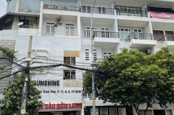 Bán gấp nhà căn góc MT đường 16m Bình Phú 1 - Quận 6 - 1T, 3L, 6PN, 7WC. LH: 0939282828 An