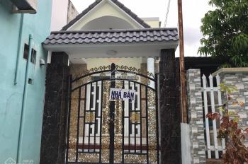 Bán nhà sau lưng siêu thị phường 4 TP Bến Tre giá 2 tỷ 150 triệu