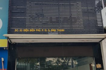 Cho thuê nhà nguyên căn mặt tiền số 93 Đường Điện Biên Phủ, Phường 15, Quận Bình Thạnh