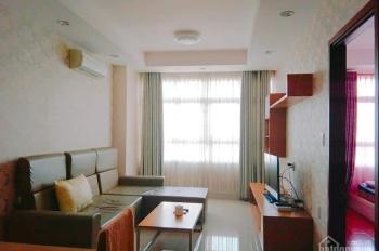 Cho thuê CHCC Tân Phước Plaza Q. 11, 75m2 2PN full NT giá 12tr/tháng. Tầng cao hướng ĐN 0933407507
