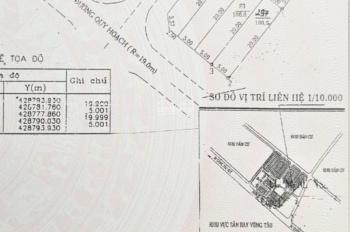 Bán đất hẻm 135 Lê Quang Định, Tp Vũng Tàu, 100m2 (5x20m) hẻm 11m vỉa hè. Giá 6,9 tỷ TL