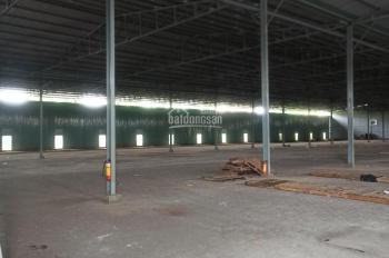 Cho thuê kho xưởng 5200m2 mới trống suốt mặt tiền đường Trương Đình Hội, P. 18, Q. 4