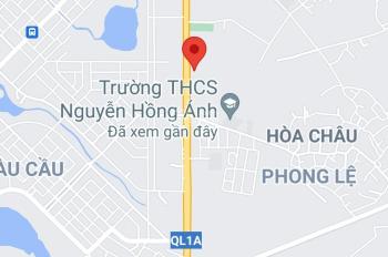 Bán 6000m2 đất và nhà xưởng tại QL1A, Hòa Châu, gần Miếu Bông, giá 13tr/m2. 0983292529 (DanaLand)