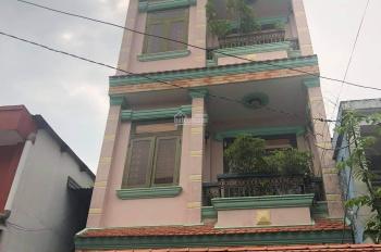 Nhà cho thuê ở hoặc làm CHDV gần Coopmart Quang Trung, P11 trệt 2 lầu sân thượng, 15 triệu/tháng
