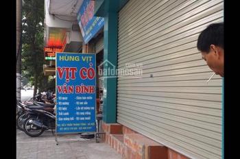 Cho thuê cửa hàng MP Trần Thánh Tông, DT 80m2, MT ~7m, nhà thông, riêng biệt, giá 18 tr/th