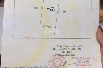 Cần bán nhà đất gần khu Hoàng Gia nằm trên đường Phú Thái