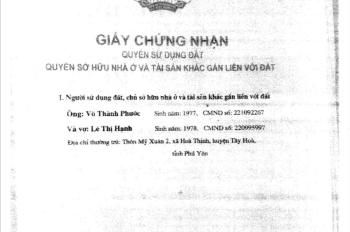 Cần bán gấp nhà nguyên căn 115m2 thổ cư tại Hòa Thành, Đông Hòa, Phú Yên. LH 0902282816