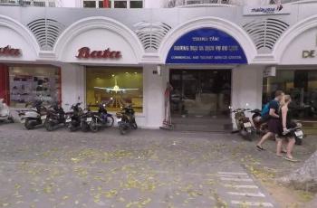 Cho thuê showroom tầng 1 tòa nhà số 1 Bà Triệu ngã tư Hàng Khay quận Hoàn Kiếm LaCoste đang thuê