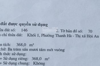 Bán đất đường 28/3 - Thanh Hà - Hội An - Liên hệ: 0359326177_ chính chủ