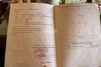Chính chủ cần bán đất mặt đường Phố Hiến, Hồng Châu, TP Hưng Yên, giá: 1,9 tỷ; LH: 0967819777