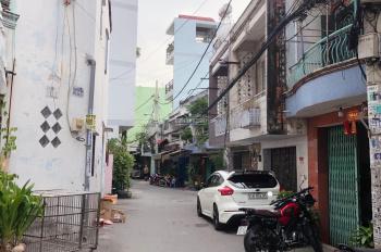 Nhà hẻm thông xe hơi 7m Tân Hoà Đông P14 Q6. 4 x 15m nở hậu nhẹ 4,05m (48,6m2) 1 trệt 1 lầu