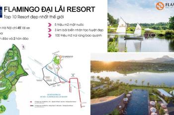 Bán căn villa biệt thự VIP khu nghỉ dưỡng Flamingo Đại Lải giá rẻ nhất thị trường. LH 0949 367 188