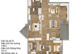 Căn hộ 2.1 tỷ Tecco Thanh Trì, DT 134,5m2 tầng thấp, cắt lỗ, LH 0862686626