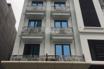 Cho thuê toà nhà đường Nhân Hoà - Thanh Xuân (đối diện chợ thuốc Hapulico). DT 80m2, 8T, thông sàn