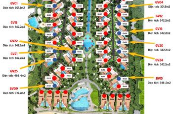 Biệt thự Ixora Hồ Tràm By Fusion 8 căn, sân golf quốc tế The Bluffs. Giá từ 20 tỷ/3PN 0908982299