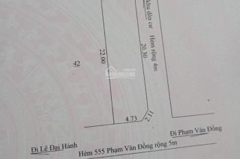 Đất hẻm Phạm Văn Đồng, Pleiku, hẻm 555 Phạm Văn Đồng
