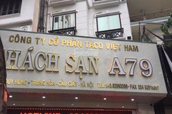 Cần chuyển nhượng lại khách sạn, hoặc cho thuê làm phòng khám, spa tại 146 Trần Duy Hưng, Cầu Giấy