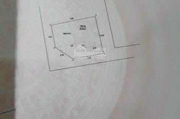 Cực hiếm, bán đất chính chủ 3MT, DT 49.8m2 giá 4,1tỷ trung tâm Q. Cầu Giấy. LH: 0934682589