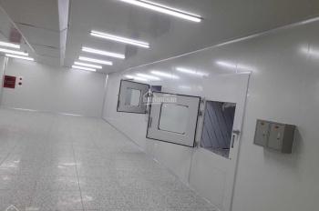 (Xưởng mới) - Cho thuê xưởng phòng sạch SX điện tử - full thiết bị - sẵn vận hành