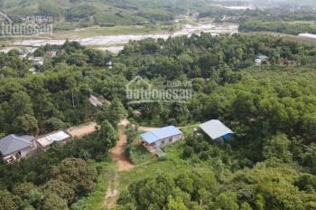 Bán gấp nhà đất thổ cư tuyệt phẩm view cánh đồng tại Lương Sơn