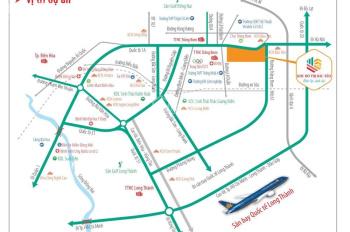 Đất thị trấn Trảng Bom, Đồng Nai, giá chỉ 1.3 tỷ, mặt tiền Quốc Lộ 1A