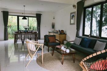 CC bán BT nghỉ dưỡng Rose Ba Vì 250m2, full nội thất, 3PN, sổ đỏ, view hồ, rừng thông, 0964238296