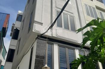 Bán nhà mới Tứ Hiệp 5 tầng lô góc 37m2 ngõ nông rộng, MT rộng, giá rẻ, sổ đỏ chính chủ