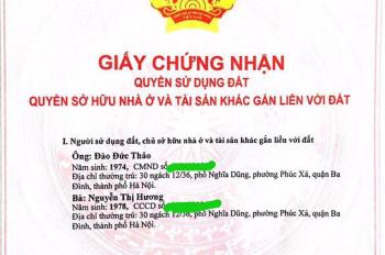 Chính chủ bán đất 2 mặt tiền, giá rẻ, tại Bảo Khê, Hưng Yên