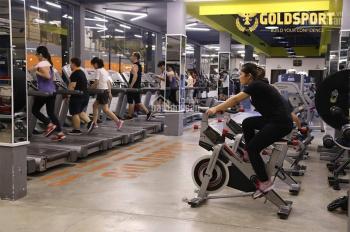 Cần sang nhượng phòng tập fitness & yoga Goldsport chỉ 4,5 tỷ (chi phí setup ban đầu 10 tỷ đồng)