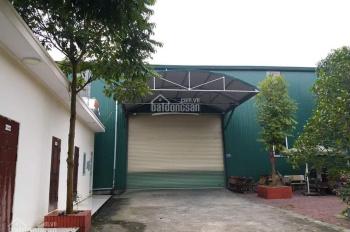 Cần bán khuôn viên đầy đủ nhà, xưởng 1800m2, mặt tiền 38m bám đường nhựa Bãi Dài, Tiến Xuân