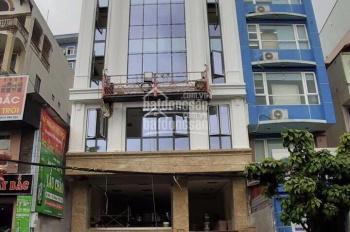 Cho thuê nhà phố Trần Thái Tông 170m2 x 8 tầng 1 hầm mặt tiền 21m ngay ngã 4 Cầu Giấy, Xuân Thủy