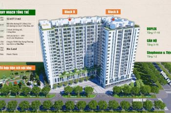 Giỏ hàng giá tốt nhất, căn hộ Ricca - Phú Hữu, Quận 9. Tháng 11 nhận nhà, chỉ 1,692 tỷ/căn